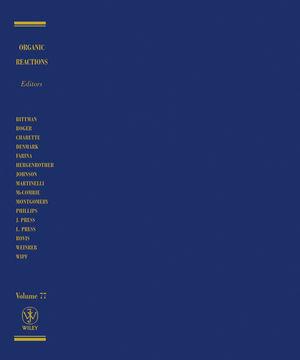 Organic Reactions, Volume 77