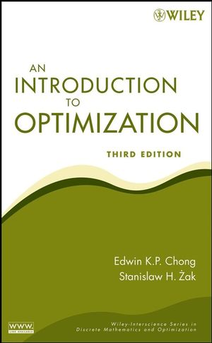 An Introduction to Optimization, 3rd Edition (111821160X) cover image