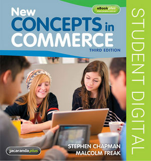 New Concepts in Commerce, 3rd Edition eBookPLUS (Online Purchase)