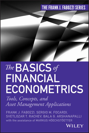 The Basics of Financial Econometrics: Tools, Concepts, and Asset Management Applications (111857320X) cover image