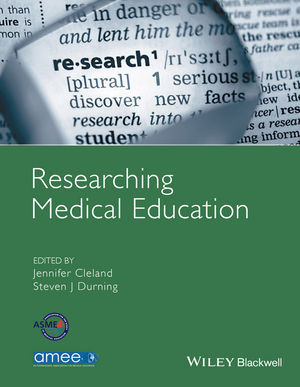 Researching Medical Education (111883920X) cover image
