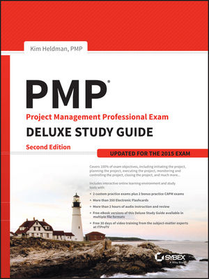 PMP Project Management Professional Exam Deluxe Study Guide: Updated for the 2015 Exam, 2nd Edition (111917970X) cover image
