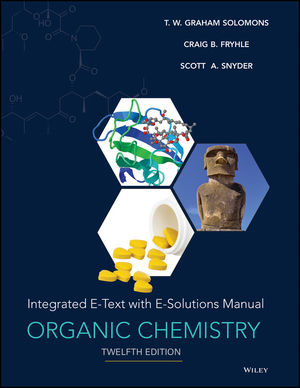 Organic Chemistry with Solutions Manual, Enhanced eText, 12th Edition (111924370X) cover image