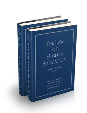 The Law of Higher Education, 6th Edition