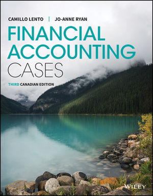 Financial Accounting Cases, 3rd Canadian Edition