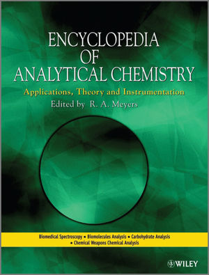 Encyclopedia of Analytical Chemistry, 18-Volume Set (111999120X) cover image
