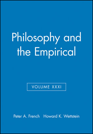 Philosophy and the Empirical, Volume XXXI