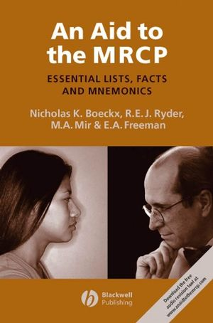 An Aid to the MRCP: Essential Lists, Facts and Mnemonics (144431260X) cover image