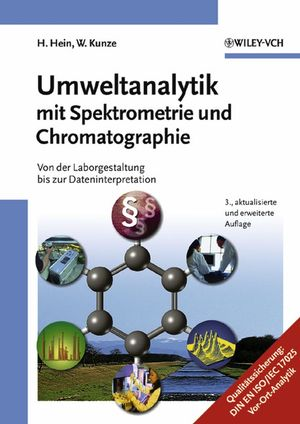 Umweltanalytik mit Spektrometrie und Chromatographie: Von der Laborgestaltung bis zur Dateninterpretation, 3rd Edition (352730780X) cover image
