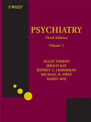 Psychiatry, 3rd Edition (2 Volume Set: Volumes 1 and 2) (0470065710) cover image