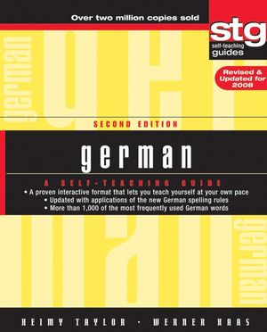 German: A Self-Teaching Guide, 2nd Edition, Revised and Updated