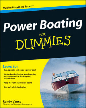 Power Boating For Dummies (0470486910) cover image
