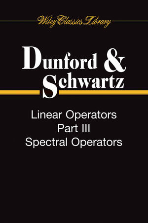 Linear Operators, 3 Volume Set (0470555610) cover image