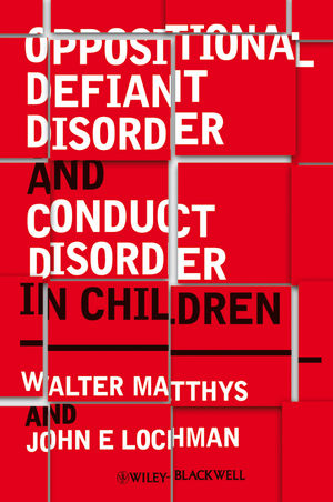 Oppositional Defiant Disorder and Conduct Disorder in Children (0470682310) cover image