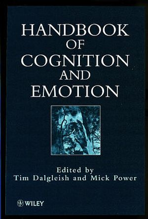 Handbook of Cognition and Emotion (0470842210) cover image