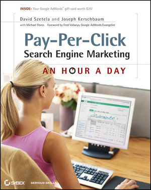 Pay-Per-Click Search Engine Marketing: An Hour a Day (0470917210) cover image