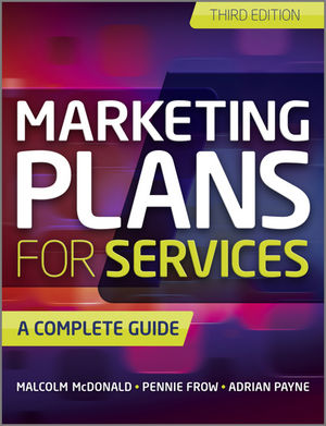 Marketing Plans for Services: A Complete Guide, 3rd Edition