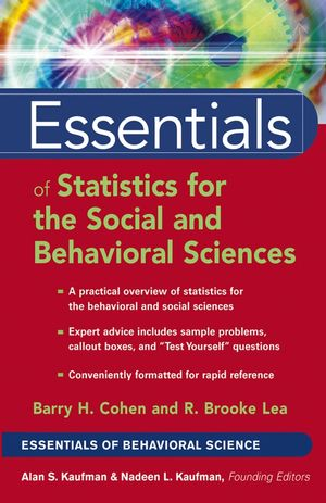 Essentials of Statistics for the <span class='search-highlight'>Social</span> and <span class='search-highlight'>Behavioral</span> <span class='search-highlight'>Sciences</span>