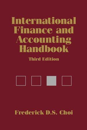 International Finance and Accounting Handbook, 3rd Edition (0471229210) cover image