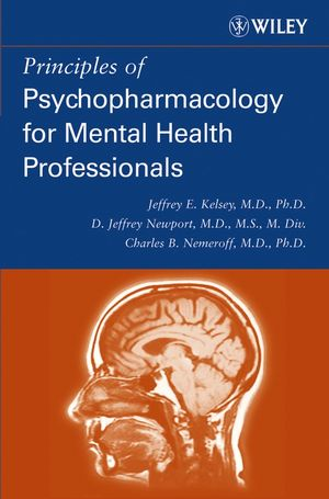 Principles of Psychopharmacology for Mental Health Professionals (0471254010) cover image
