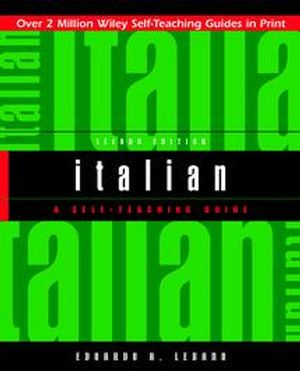 Italian: A Self-Teaching Guide, 2nd Edition (0471359610) cover image