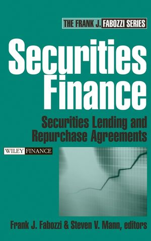 Securities Finance: Securities Lending and Repurchase Agreements