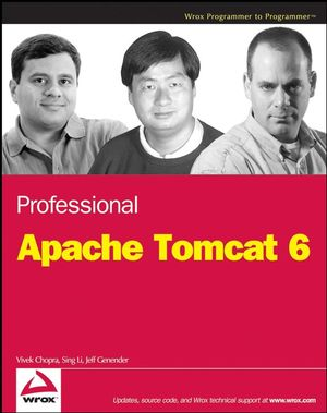 Professional Apache Tomcat 6 (0471753610) cover image