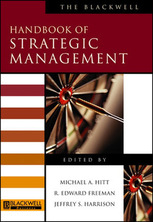 The Blackwell Handbook of Strategic Management (0631218610) cover image