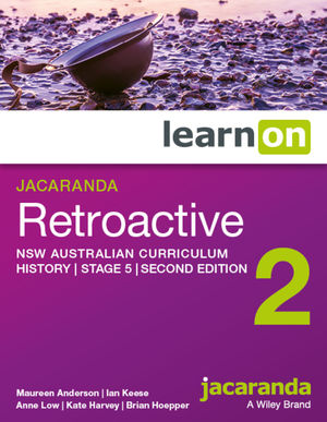 Jacaranda Retroactive Stage 5 NSW Australian curriculum 2e learnON (Codes Emailed)