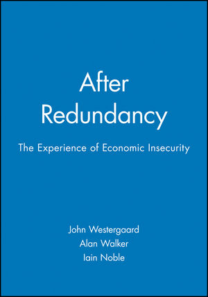 the sociology of insecurity Instead, it was cumulative job insecurity over many years that was  it is a  publication of the american sociological association, edited by.