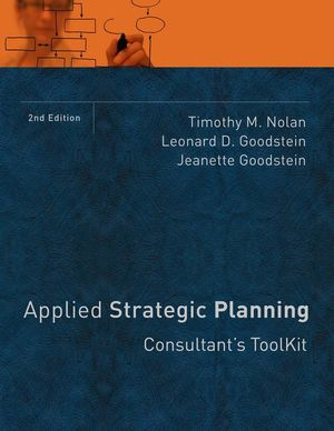 Applied Strategic Planning: Consultant