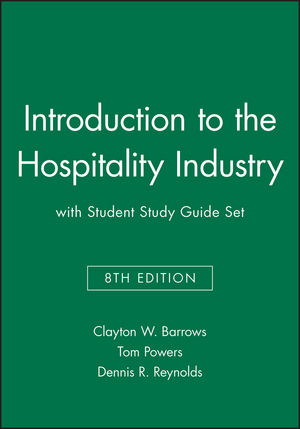Introduction to the Hospitality Industry 8e with Student Study Guide Set (1118103610) cover image