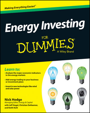 Wiley energy investing for dummies nick hodge for Reading blueprints for dummies