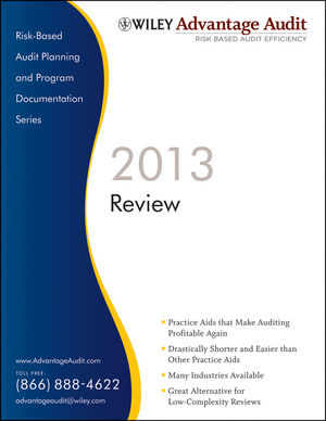 Wiley Advantage Audit 2013 - Review