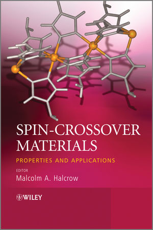 Spin-Crossover Materials: Properties and Applications (1118519310) cover image