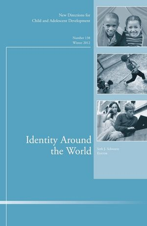 Identity Around the World: New Directions for Child and Adolescent Development, Number 138 (1118544110) cover image