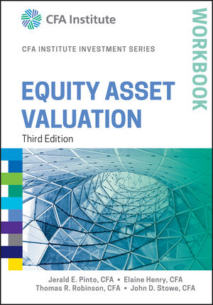 Equity Asset Valuation Workbook, 3rd Edition (1119104610) cover image