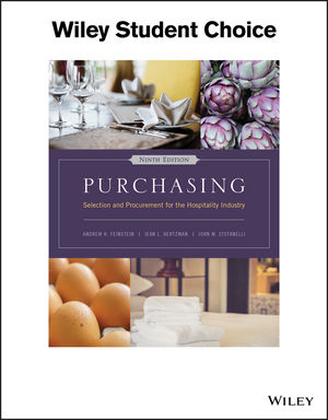 Purchasing: Selection and Procurement for the Hospitality Industry, 9th Edition
