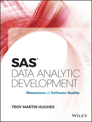 SAS Data Analytic Development: Dimensions of Software Quality (1119255910) cover image