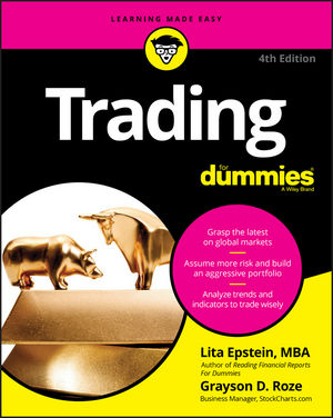 Trading For Dummies, 4th Edition (1119370310) cover image
