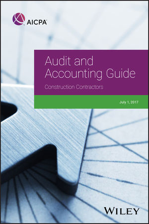 Audit and Accounting Guide: <span class='search-highlight'>Construction</span> Contractors, 2017