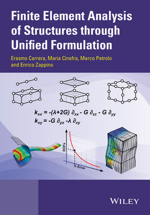 Finite Element Analysis of Structures through Unified Formulation (1119941210) cover image