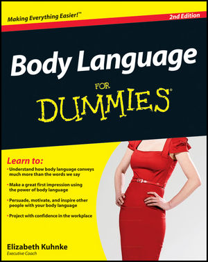 Body Language For Dummies, 2nd Edition (1119953510) cover image