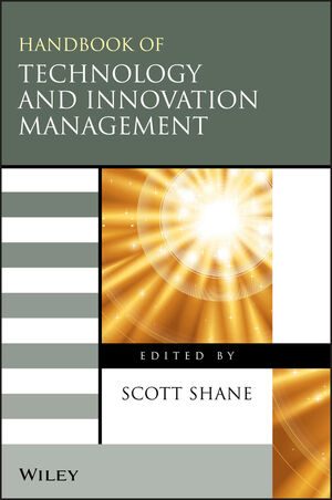 The Handbook of Technology and Innovation Management (1405127910) cover image