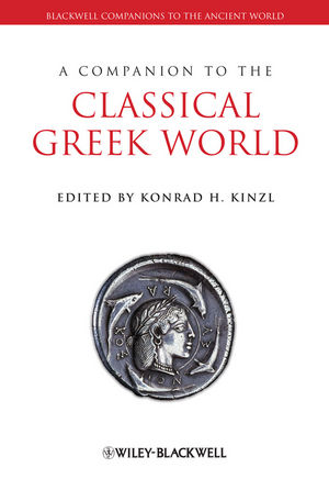A Companion to the Classical Greek World (1405172010) cover image