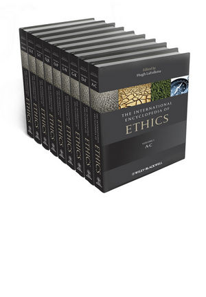 The International Encyclopedia of Ethics (1405186410) cover image