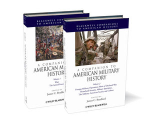 A Companion to American Military History (1444315110) cover image
