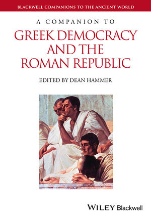 A Companion to Greek Democracy and the Roman Republic (1444336010) cover image