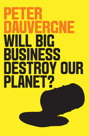 Will Big Business Destroy Our Planet? (1509524010) cover image