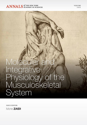 Molecular and Integrative Physiology of the Musculoskeletal System (1573318310) cover image